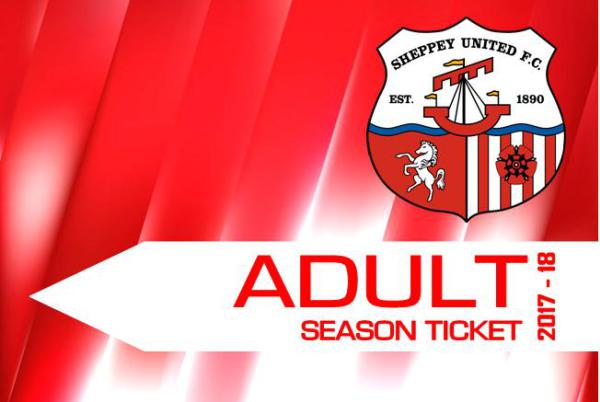 2017/18 Season Tickets